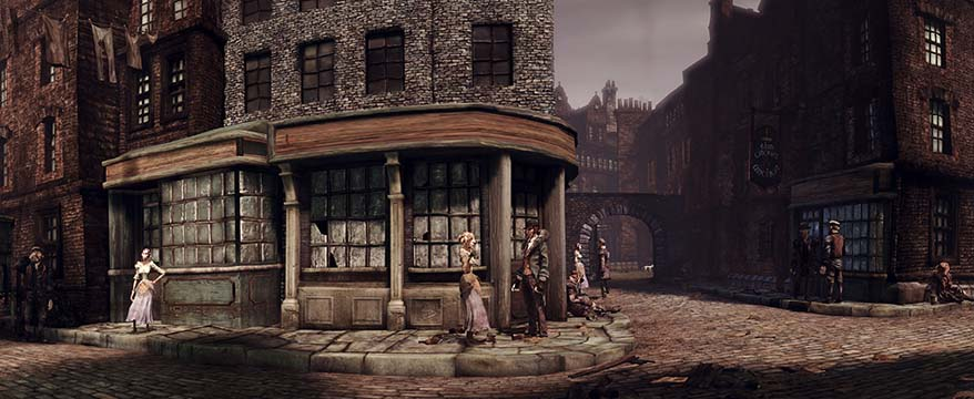 Alice Madness Returns Panorama on the streets