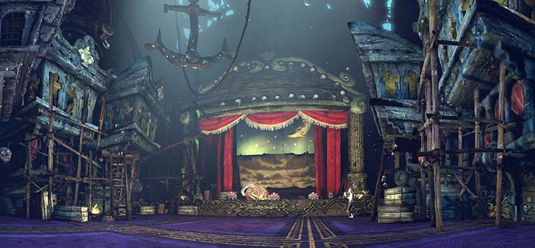 Alice Madness Returns Panorama the Dreary Lane Theater