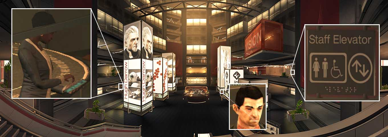 Deus Ex Human Revolution Panorama - created 2014 - The Sarif Industries office
