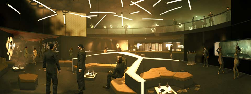 Deus Ex Human Revolution Panorama the hive