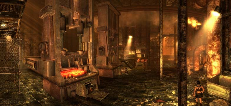 Fallout 3 Panorama Steelworks