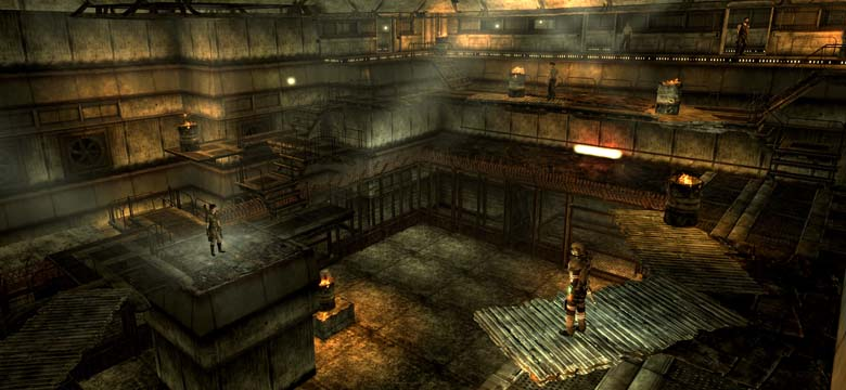 Fallout New Vegas Panorama The Thorn Arena
