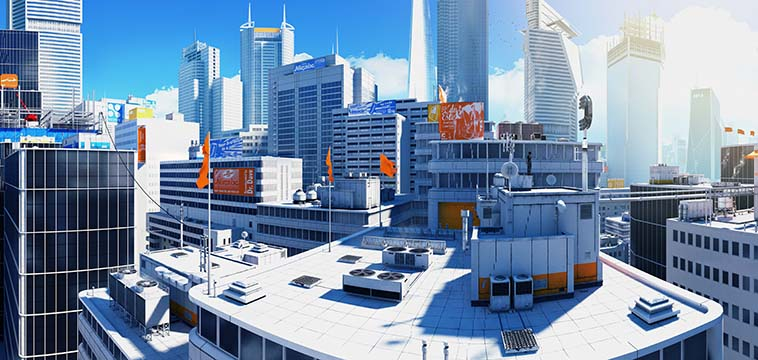 Mirror's Edge Panorama CH0 Prologue