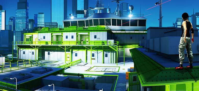 Mirrors Edge CH7 The Boat, the sniper scene