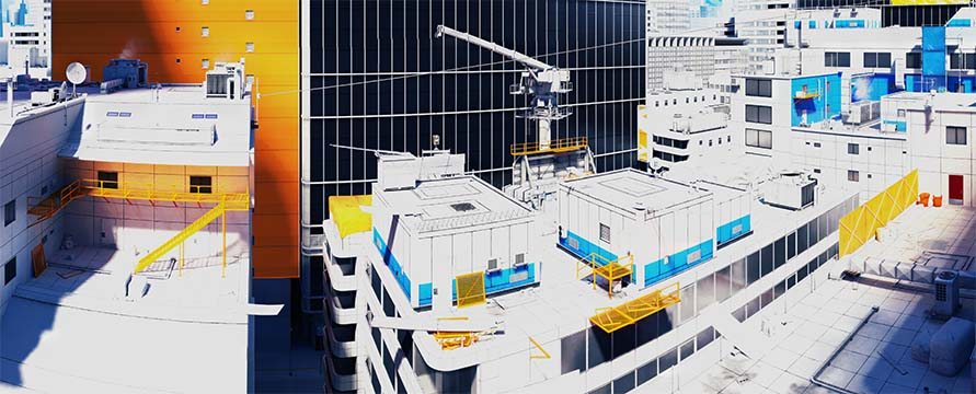 Mirrors Edge Panorama Training Grounds